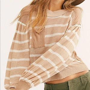 Free People Between the Lines Sweater